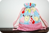 Drawstring Bag With a Spring Surprise!