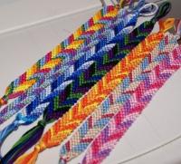 Friendship Bracelet with Pen Pal Intro Letter