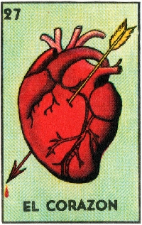 ATC☼Loteria☼EL CORAZON♥(the heart)♥