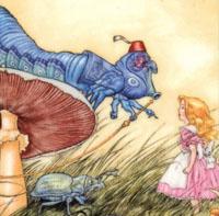 Alice in Wonderland Themed Matchbox Swap