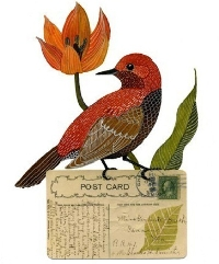Bird Art Postcard Swap