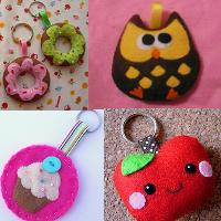 Cute Handmade Keychain!