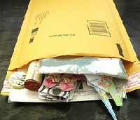 Big fat envelope Juli