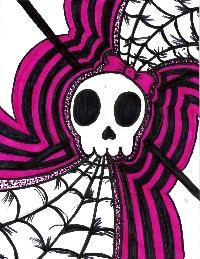 Skull ATC ~ EDITED