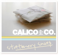 Calico & Co Quick Stationery Swap