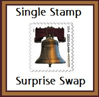 Single Stamp Surprise Swap #3--USA