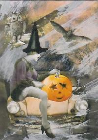 ATCs for Halloween
