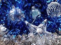 A Blue Christmas Whimsey Jar Swap