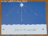 Christmas card challenge #4-Stars