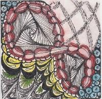 In Full Color Zentangle 3.5