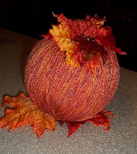 November Magic Yarn Ball