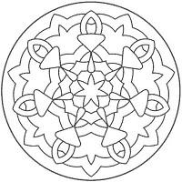 Mandala Coloring (Newbie Friendly)