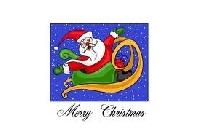 Christmas card challenge #8-Santa