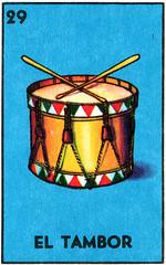 ATC loteria'' El tambor'' (the drum)