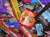 candy scavenger hunt