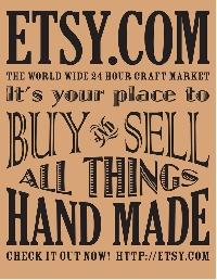 Amazon Wishlist or Etsy Favorites + a postcard #7
