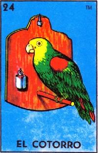 ATC Loteria ''El cotorro'' (the parrot)
