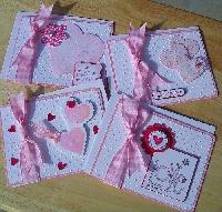 MARCH NEWBIE SWAP-Handmade Greeting Card