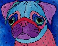 Pug Postcard Swap #2