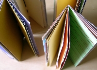 Earth Day Recycled Paper Handmade Notebook/Journal