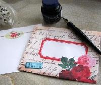 Little treats for penpals - e-mail swap