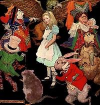 Alice in Wonderland Themed N&N FBs