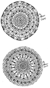 Mandala Zentangle