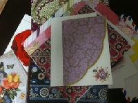 5 Notecards with Envelope Swap #1