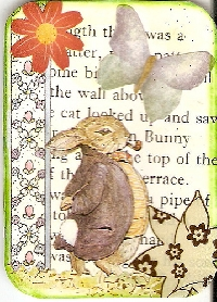 storybook page ATC (collage)
