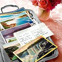 Vintage Postcard Swap
