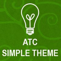 Fabric ATC: Simple Theme - Cupcakes!