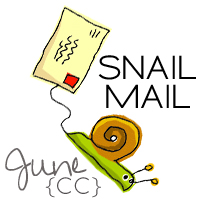 Creative Collective June Snail Mail swap