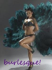 Incredible Women ATC Series - #1: Burlesque Beauty
