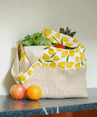 Market Tote from 1, 2, 3 Sew