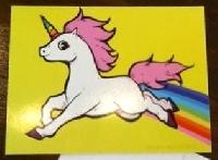 Unicorn Postcard Swap