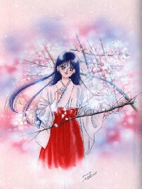 Sailor Soldier ATC - 3. Sailor Mars/Raye