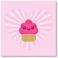 Kawaii Cupcake ATC!