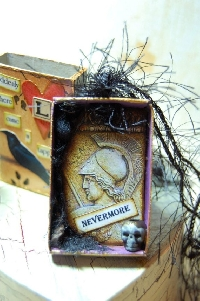 Crow/Raven Matchbox shrine