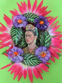 Frida altered Tin Can