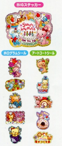 Kawaii Sticker Flakes x35! International
