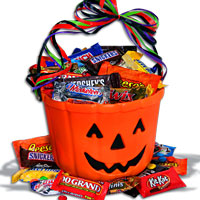 Spooky Halloween Candy package
