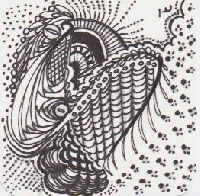 Zentangle purist,  Sept.