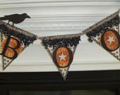 Lavish BOO Banner for Halloween